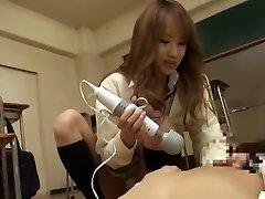 Hottest Japanese whore LUNA in Hottest Dildos/Playthings, Handjobs JAV movie