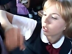 Bus Full of Blonde School Women 3
