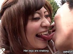 Asians are getting their wet honeypots finger-tickled real deep