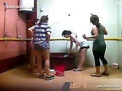 ###ping chinese femmes bathing
