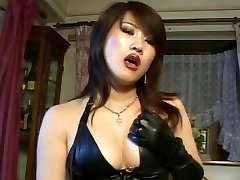 Japanese belt cock mistress
