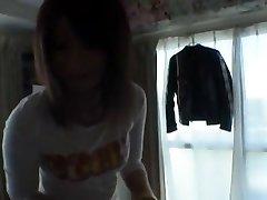 הכי נערה יפנית סאיה מיזאקי ב חרמנית מציצה, ליהוק JAV קליפ