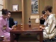 Milf in heats, Mio Okazaki, likes a wild fuck