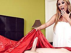 İçinde Kianna Dior & Jordi El NiГ±o Polla yatağımda Bir Jordi Brazzers Var -