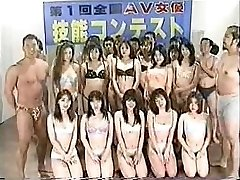 Japanese group sex contest uncensored