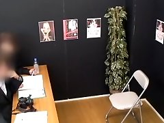 Impressive Japanese chick in Amazing Casting JAV tweak