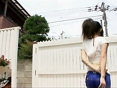 Playing dirty with beautiful Yui Komine