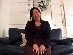יפנית BBW סבתא Creampie סניה אראי 52years