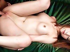 Hämmastav Jaapani hoor Riona Suzune aastal Kuumim JAV tsenseerimata Hardcore clip