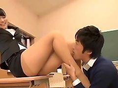 Beautiful Japanese Educator