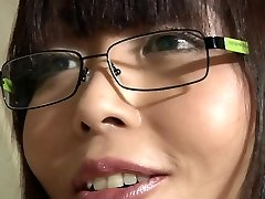 Asian school girl takes aged teacher cumshot in her mouth