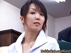 Sexy real chinese Shiho getting jizz partTrio