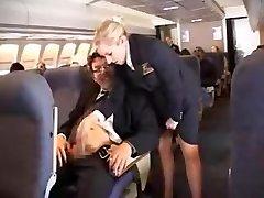 ameerika stjuardess handjob osa 1