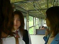 הכי טוב 3. בנות יפניות נשיקות עם הלשון סצנת הסקס