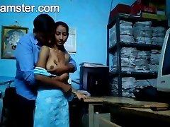 Marathi Office Couple Romp