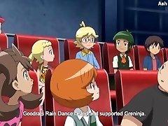 स्थानीय Pokemon ट्रेनर हो जाता है एक विदेशी और द्वारा fisted मेगा Charizard X
