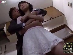 cheating wife fucked with husband boss 6