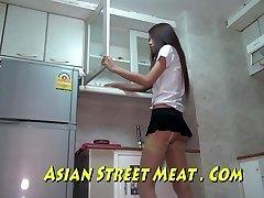 Bangkok Bedroom Maid Buggered For New Handbag