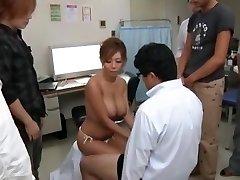 אקזוטיים יפנית בחורה Kairi Uehara בתוך מדהים, ציצים גדולים, קאם JAV הסרט