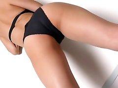 Miyu dancing - shiny bodysuit non-nude