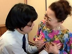 asiatiske bestemor