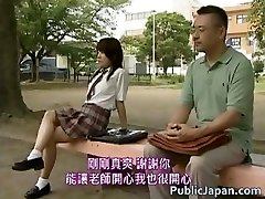 Asian model has hot public hook-up partTwo