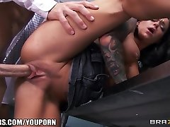 Incredibly Super-steamy teacher's assistant Crista Moore fucks her prof
