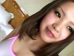 Japansk lydig jente. Amateur25