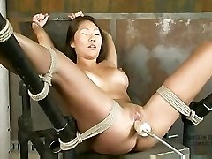 Beti Hana Bound And Machine Fucked