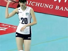 Niedlichen Sabina Atlynbekova