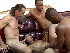 Asian MILF's Office Group Pound
