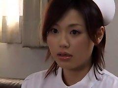 Wild Japanese fuckslut Yui Matsuno in Incredible Medical, Close-up JAV movie