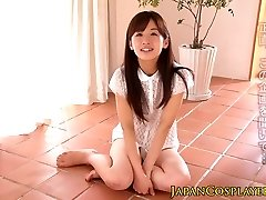 Japanske tenåringen pussylicked før ansikts
