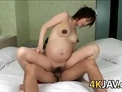 Pregnant Japanese Hotty