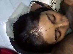 Sperma im Gesicht Desi