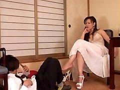 Japanische Boss und Slave