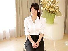 Eksotične Japonski kurba Asuka Takao v Neverjetno velike joške, solo dekle JAV film