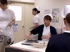 Naughty Asian whore Aya Sakuraba, Yuri Aine, Yu Kawakami in Horny Handjobs JAV clip