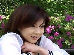 Nővérke jelmez illik, hogy szexi Japán lány, Aki Hoshino