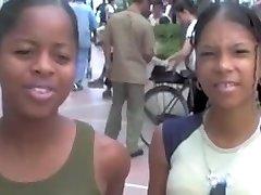 Dominikanska-tajski študent, študenti pripravo