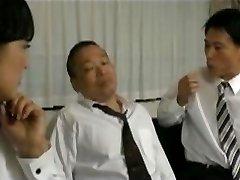 Japanes Žena In Šef Mož 03