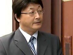Šef In Underlings Žena Misa Yuki
