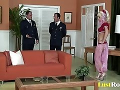 Hot dominative couple Asa Akira and Jessica Bangkok