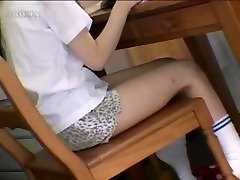 Asian girls shagging objects