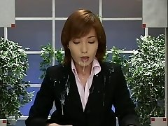 Japan News with Cumshots. Sequence 2