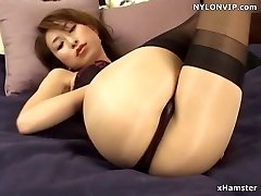 stockings frosted nylon stockings legs