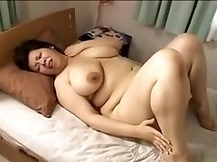 Japan big gorgeous lady Mamma