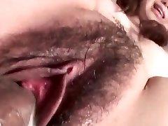 Jun Mise dobi velik kurac povečati njeno mokro bush