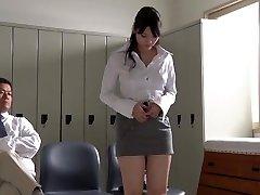 JAV star Rei Mizuna teacher striptease Subtitles