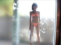 Zelo Suh Azijski Seksi Dekle V Bikini
